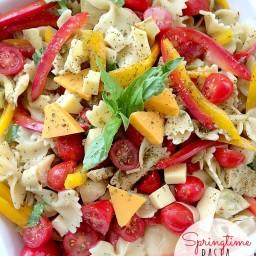 Springtime Pasta Salad Recipe [@SargentoCheese]