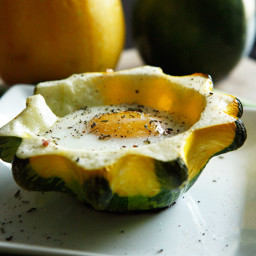 Squash and Egg Bake