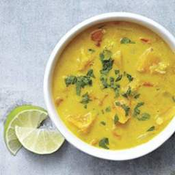 Squash and Red Lentil Curry