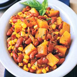 Squash, Bean, and Corn Stew