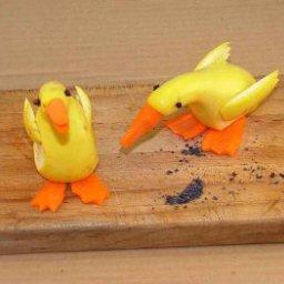 Squash Geese (Decoration)