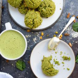 St. Patrick's Day Green Breakfast Cookies