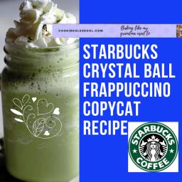 Starbucks Crystal Ball Frappuccino Healthier Copycat Recipe