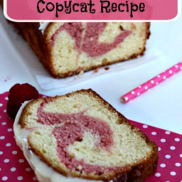 Starbucks Raspberry Swirl Pound Cake Copycat