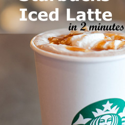 Starbucks Skinny Iced Latte - Copycat Recipe