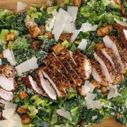 Statement Salad: Rachael's Tahini Caesar with Boneless Chicken Za'
