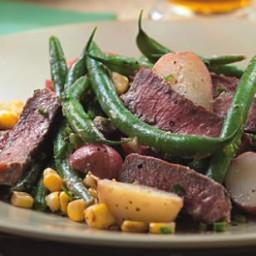 Steak and Potato Salad with Horseradish Dressing