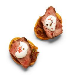 Steak Au Poivre Potatoes