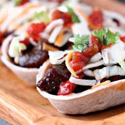Steak Bites Mini Taco Boats