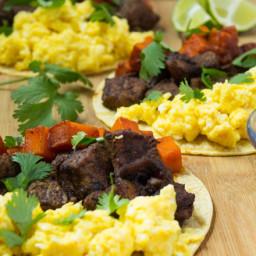 Steak Breakfast Tacos