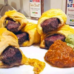 Steak Crescents Texas Style