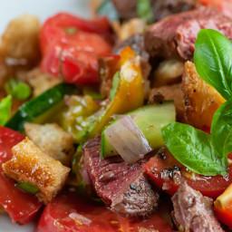 Steak Panzanella Salad