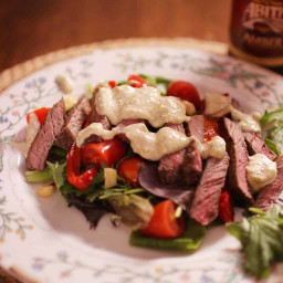 Steak Salad For One