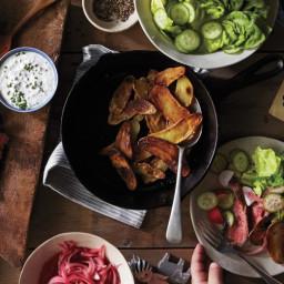 Steak Salad with Horseradish Dressing