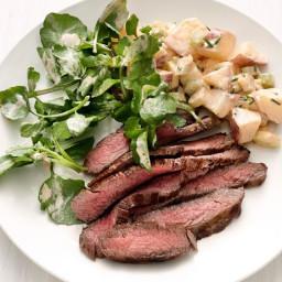 Steak with Ranch Potato Salad