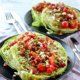 Steakhouse Wedge Salad with a Twist