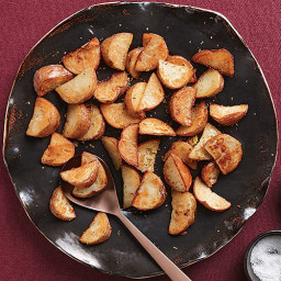 Steam-Roasted Potatoes with Oregano and Lemon