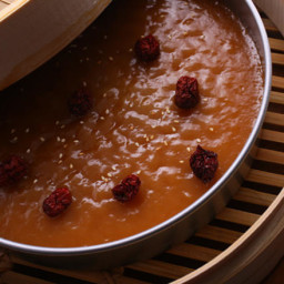 Steamed Chinese New Year Cake