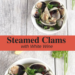 Steamed Clams with White Wine