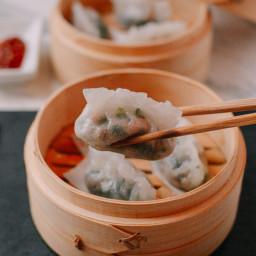 Steamed Crystal Dumplings, a Dim Sum Classic