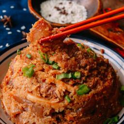 Steamed Pork with Rice Powder (Fen Zheng Rou - 粉蒸肉)