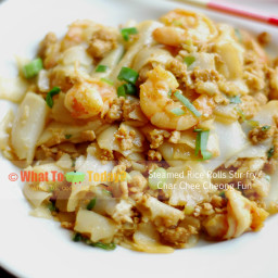 STEAMED RICE ROLLS STIR-FRY / CHAR CHEE CHEONG FUN (2 servings)