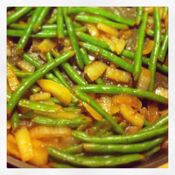 Steamed Sautéed Green Beans
