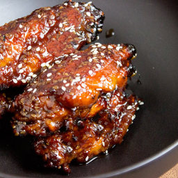 Sticky Asian Chicken Wings