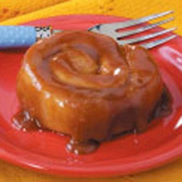 Sticky Caramel Cinnamon Rolls Recipe