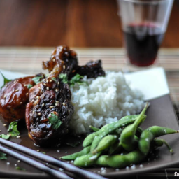 Sticky Chicken Drumsticks – Slow Cooker