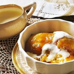 Sticky golden syrup dumplings