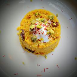 Sticky Saffron Rice