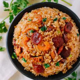 Sticky Rice w/ Chinese Sausage