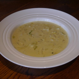 Stilton and Cabbage Soup