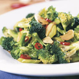 Stir-Fried Broccoli with Oyster Sauce