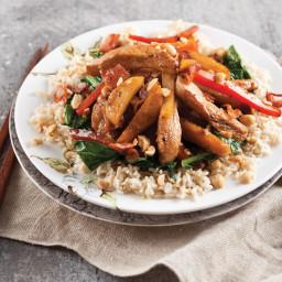 Stir-Fried Chicken and Turnips