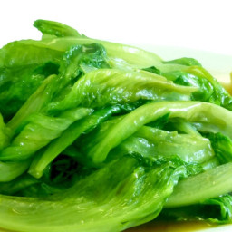 Stir-Fried Garlic Lettuce