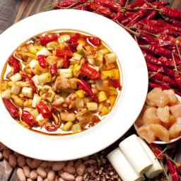Stir-Fried Kung Pao Chicken with Chili Peppers Recipe