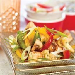 Stir Fried Tofu and Mushroom ( Protein Rich Recipe)