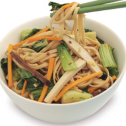 Stir-Fried Udon Noodles with Bok Choy