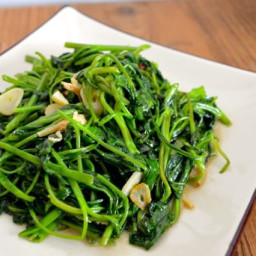 Stir Fried Water Spinach with Fermented Tofu
