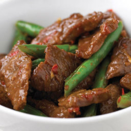 Stir Fry Beef with Beans