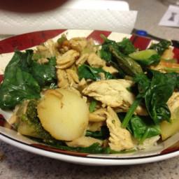 Stir Fry Chicken & Vegetables