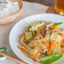 Stir Fry Vegetables (Yasai Itame)