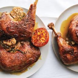 Stock-Braised Turkey Legs