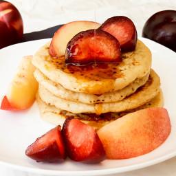 Stone Fruit Pancakes