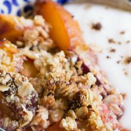Stone Fruit Quinoa Crumble