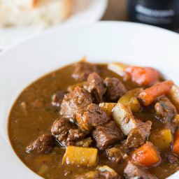 Crockpot Stout Beef Stew