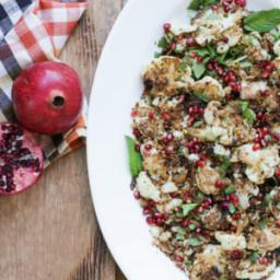 Stovetop Cauliflower with Pomegranate Molasses Recipe