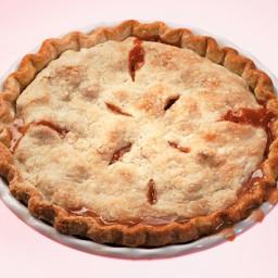 Straight-Up Rhubarb Pie